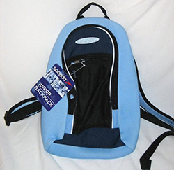 Blue Speedo Back Pack
