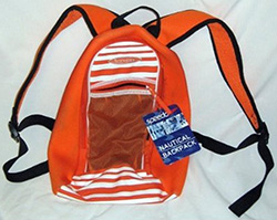 Orange Speedo Backpack
