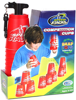 Speed Stacks Stacking Cup Set - Red